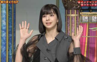 【さんま御殿】JJモデル・小山ティナ(19)が透け感たっぷりのシースルー衣装で見せるエロ脇チラwwww