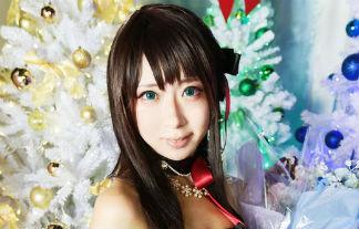 さちぶどう クロ髪美10代小娘☆渋谷凛のアニバーサリーウィズメモリーのコスプレ写真