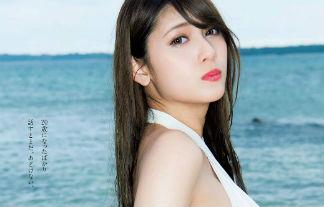アンジェラ芽衣ミズ着ハーフ写真31枚☆リア・ディゾン越えの美巨乳ハーフの最新グラビア☆