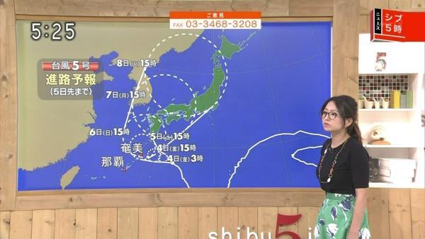 福岡良子 胸チラキャプエロ画像002