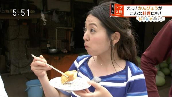 福岡良子 胸チラキャプエロ画像027