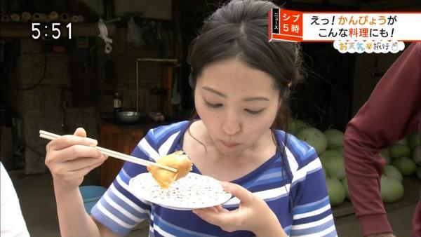 福岡良子 胸チラキャプエロ画像029