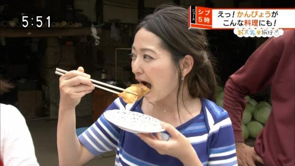 福岡良子 胸チラキャプエロ画像032