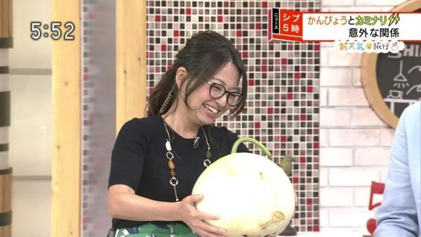 福岡良子 胸チラキャプエロ画像036