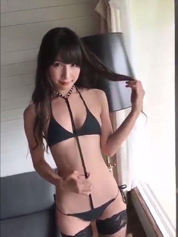 川崎あや 変態下着画像007
