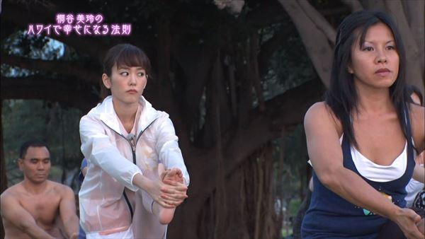 桐谷美玲 胸チラパンチラエロ画像029