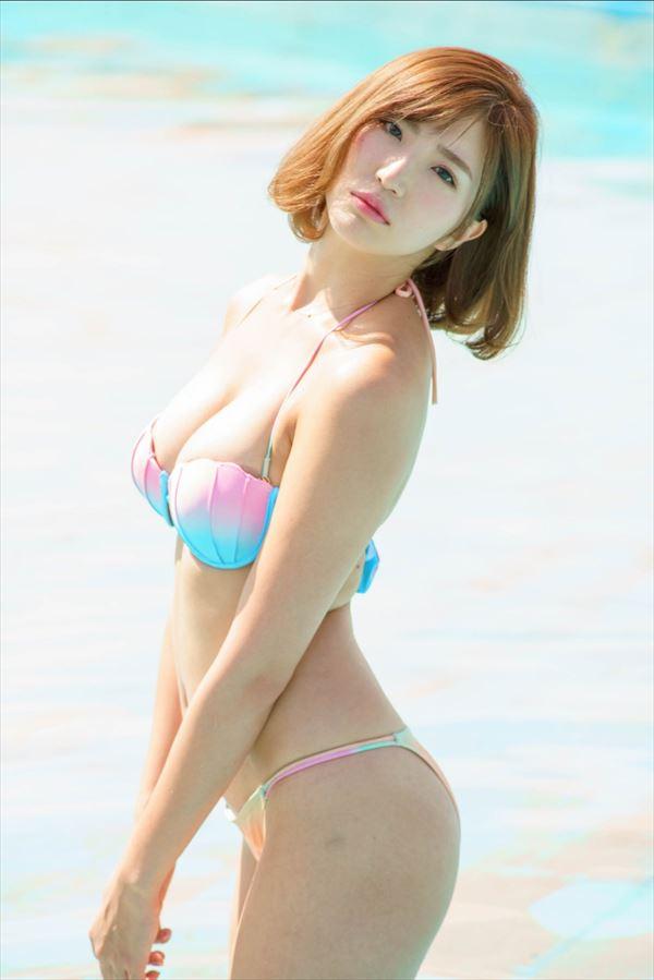 松嶋えいみ 水着エロ画像001