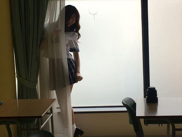 森咲智美 透け画像008
