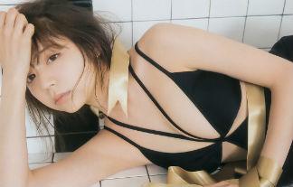 斎藤みらい水着エロ画像91枚!女子大生に人気のモデルがふっくらおっぱいを公開!