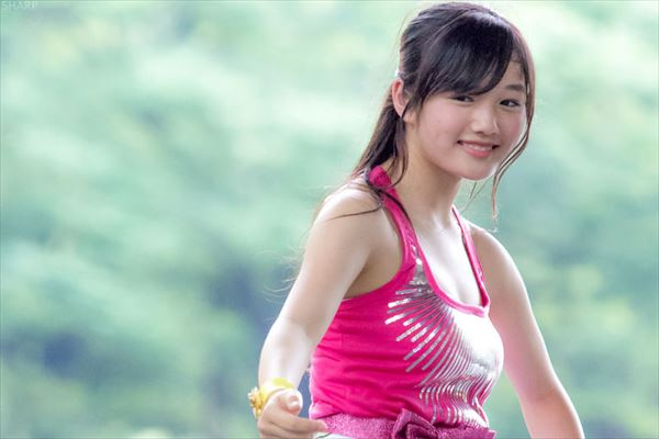 安藤咲桜 水着エロ画像027