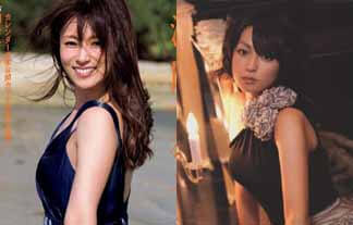 深田恭子にお乳縮んでる疑惑…カレンダー先行カットと過去のミズ着写真で比較(えろ写真18枚)