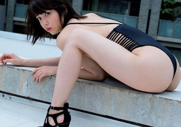 山谷花純 半裸エロ画像005