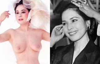 デヴィ夫人ヌード画像51枚!おっぱい乳首丸出し写真がエロい!若い頃が美人すぎる!