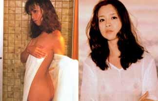坂口良子ぬーど写真85枚☆若い頃の坂口杏里お母ちゃんが小さい乳お乳のチクビ透けててえろい☆