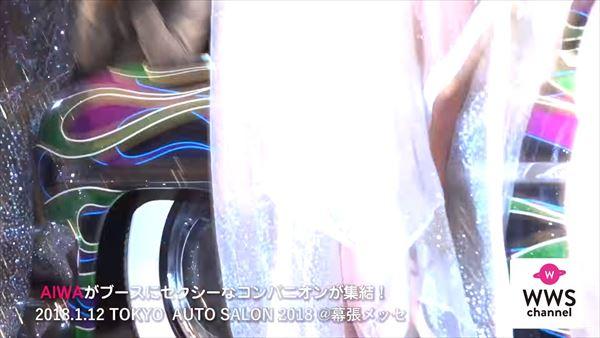 東京オートサロン2018 水着エロ画像017