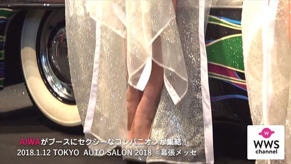 東京オートサロン2018 水着エロ画像019