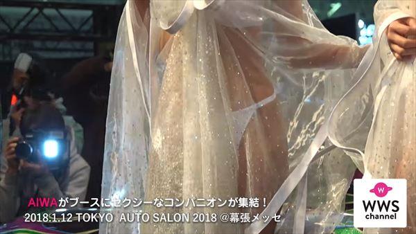 東京オートサロン2018 水着エロ画像021
