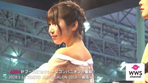 東京オートサロン2018 水着エロ画像029