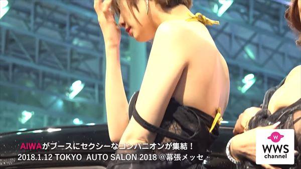 東京オートサロン2018 水着エロ画像035