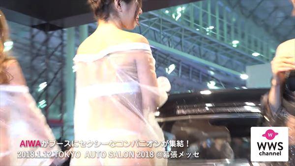 東京オートサロン2018 水着エロ画像046