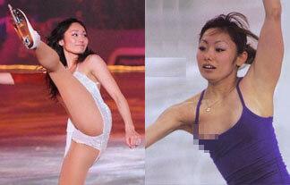 安藤美姫エロ画像を厳選!元フィギュア選手の乳首ポッチや乳輪ポロリまとめ!画像