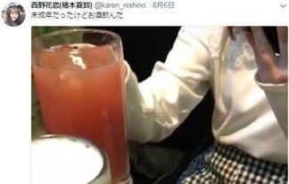 【晒し】グラドル西野花恋のバイト先や未成年飲酒を暴露する謎垢が立ち上がる…ガチでヤバい…【エロ画像59枚】