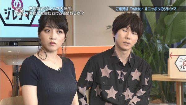 NHKアナ赤木野々花 下着透けエロ画像006