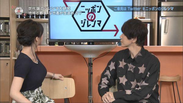 NHKアナ赤木野々花 下着透けエロ画像008