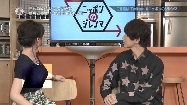 NHKアナ赤木野々花 下着透けエロ画像009