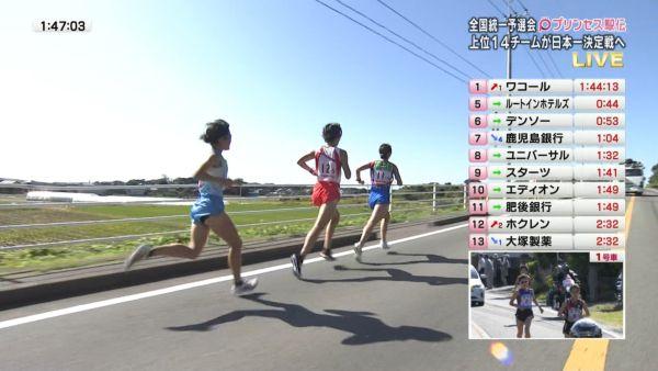駅伝JD透けパンツ エロ画像025