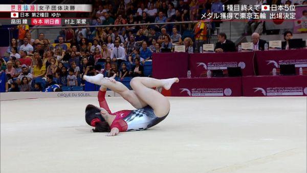 女子体操ハミ尻エロ画像034