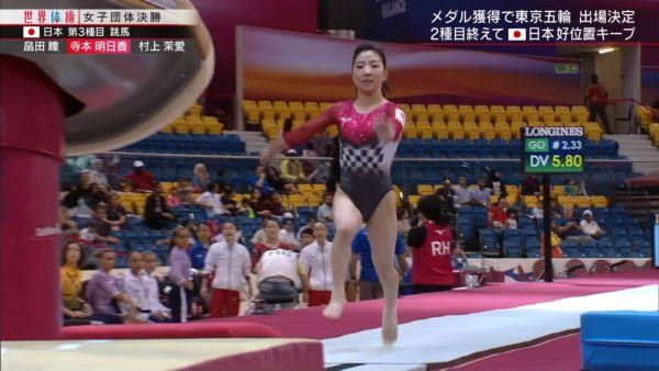 女子体操ハミ尻エロ画像069