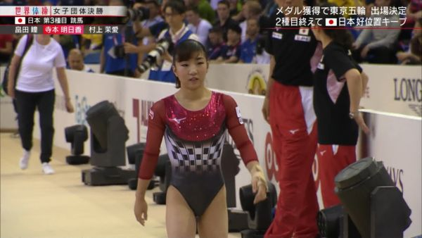 女子体操ハミ尻エロ画像071