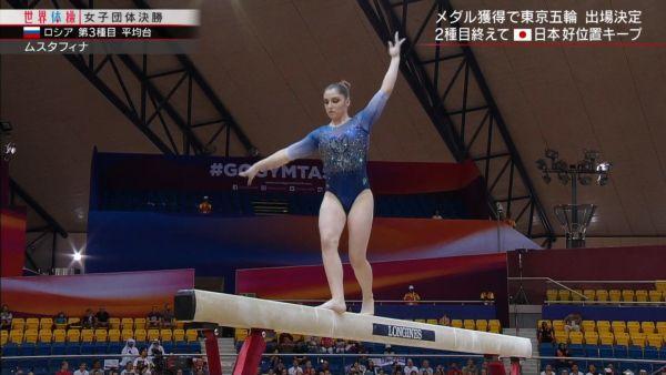 女子体操ハミ尻エロ画像072