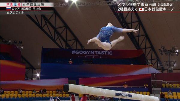 女子体操ハミ尻エロ画像073