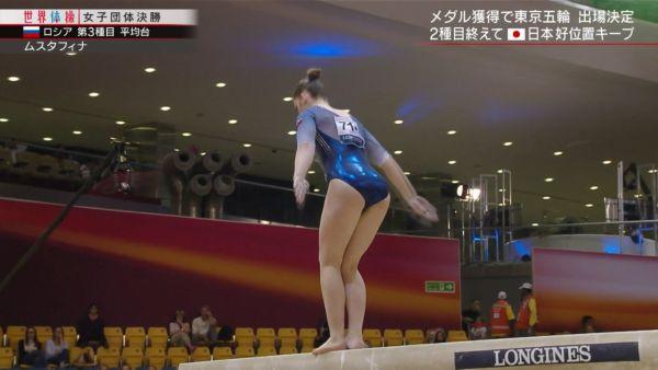 女子体操ハミ尻エロ画像076