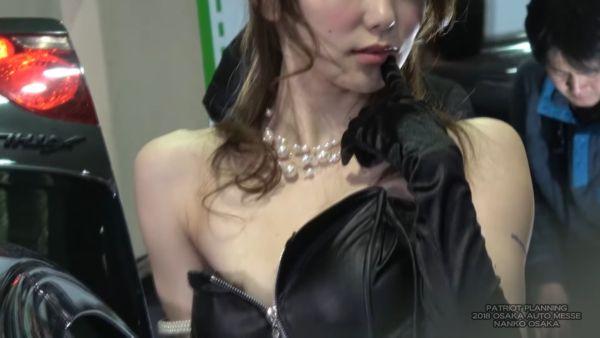 コンパニオン乳首ポロリエロ画像009