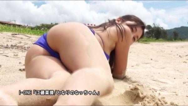 江藤菜摘 水着エロ画像024