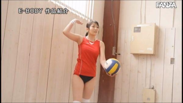 愛 バレーボール選手AVデビューエロ画像018