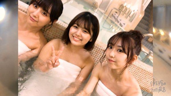 SKE48熊崎晴香 放送事故エロ画像046